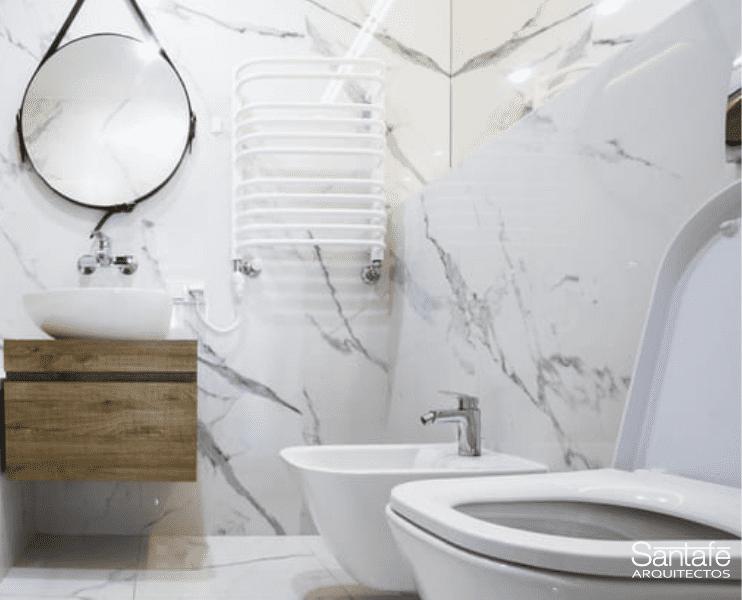 Reformas baños pequeños muebles