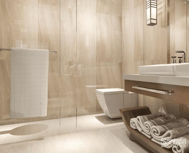 Reformas baños pequeños mampara